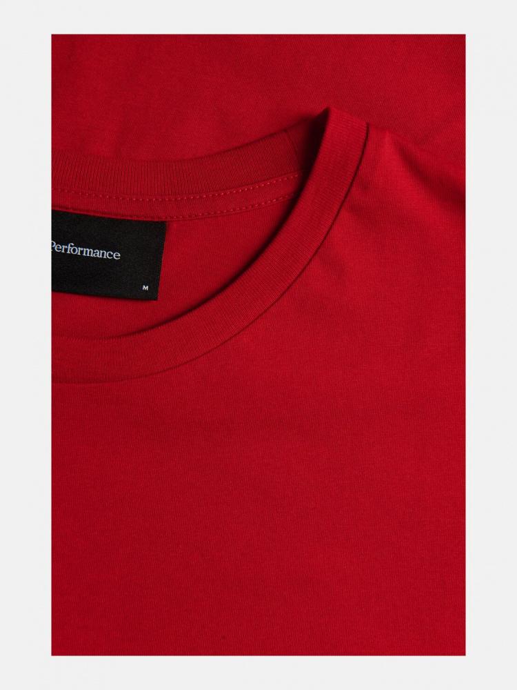 polstret skjorte rød