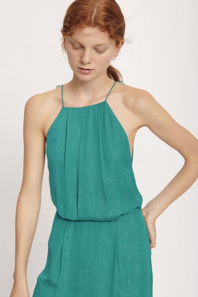 Grønn Samsøe Samsøe Willow kjole Agalaust